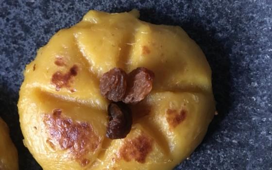无油无糖红薯糯米饼