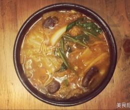 泡菜牛肉火锅