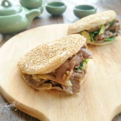 電餅鐺食譜-老北京燒餅夾烤肉
