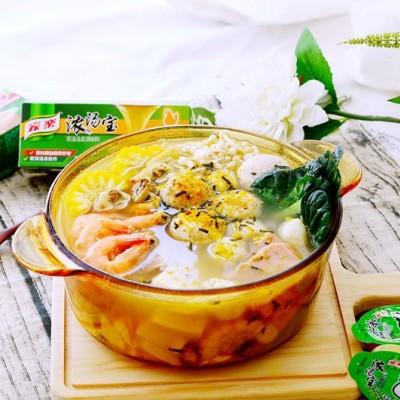 养生海鲜豆腐火锅