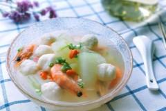 冬瓜鱼丸汤