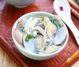 菌菇花蛤汤