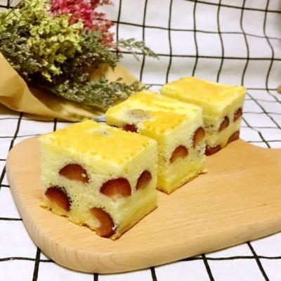 樱桃棉花蛋糕
