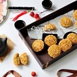 香葱芝麻桃酥#蒸派or烤派#