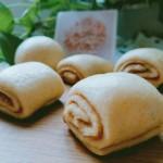 小麦胚芽核桃酱花卷#蒸派or烤派#