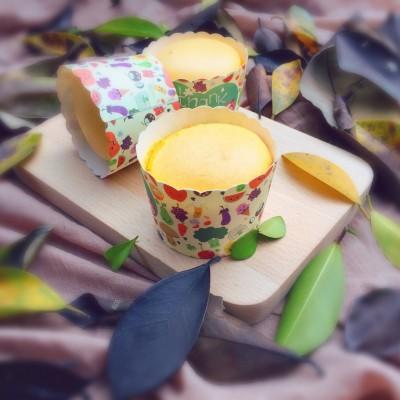 南瓜蛋糕杯