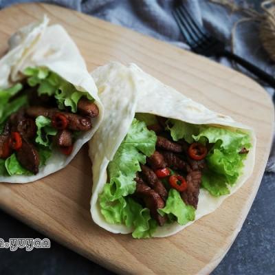 電餅鐺-嫩牛肉卷餅