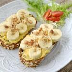 【面包薯泥香蕉沙拉】野餐必备小食