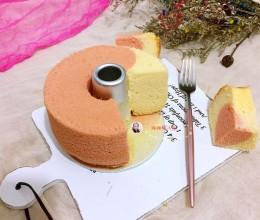 6寸双色戚风蛋糕