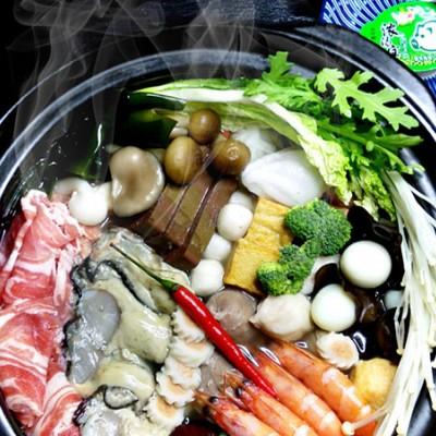 羊肉海鮮火鍋