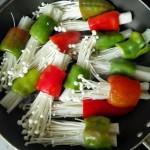 酿青椒金针菇