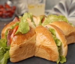 星形三明治#跨界烤箱,探索味来#