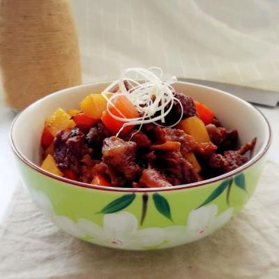 秘制土豆焖牛腩#每一道菜都是一台食光机#