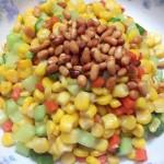 松子玉米(简单到厨房小白也可以)