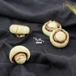 小巧玲珑的蘑菇饼干,超酥脆