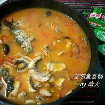 蕃茄鱼喜锅#浓汤宝火锅英雄争霸赛#