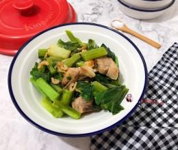 砂锅芥菜煲