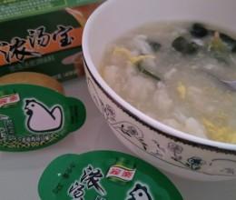 青菜疙瘩汤