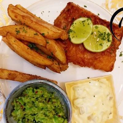 「回家菜谱」——英国传统炸鱼柳薯条