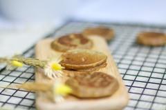 蛋黄香蕉高粱饼