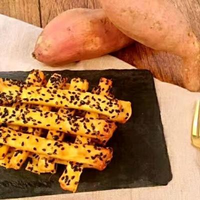 好吃的零食-红薯芝麻脆条