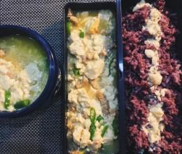 便当食谱-豆腐焖肉肉
