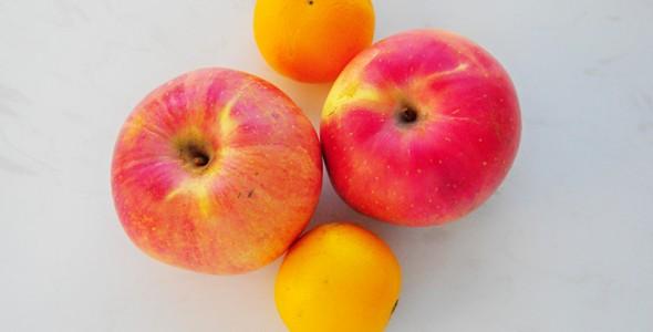 苹果橙子水果拼盘的做法 苹果橙子水果拼盘的家常做法 苹果橙子水果