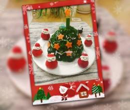 可以吃的圣诞树和圣诞老人
