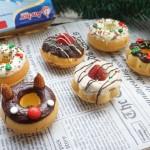 圣诞甜甜圈#安佳烘培学院#