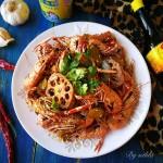 麻辣海龙虾#美食美刻,乐享美极#