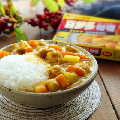 日式咖喱土豆鸡腿饭