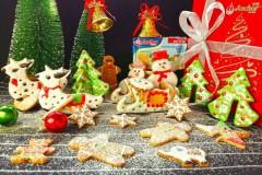 圣诞糖霜饼干#安佳烘焙学院#