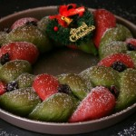 圣诞花环面包#安佳烘焙学院#