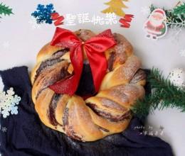 圣诞花环面包#优思明恋恋冬日,我要稳稳的爱#