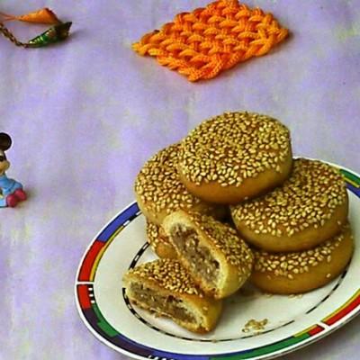 椒盐小麻饼