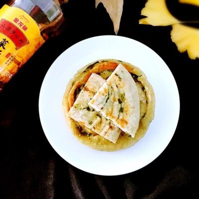 燕麦葱油饼