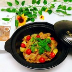 土豆焖对味酱鸭#食光社干锅鸭#