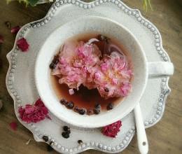 黑枸杞玫瑰茶