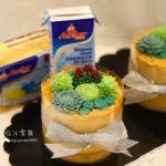 韩式多肉豆沙裱花蛋糕