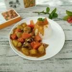 咖喱鸡腿饭#安记咖喱慢享菜#