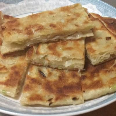 香葱千层饼(猪油版)