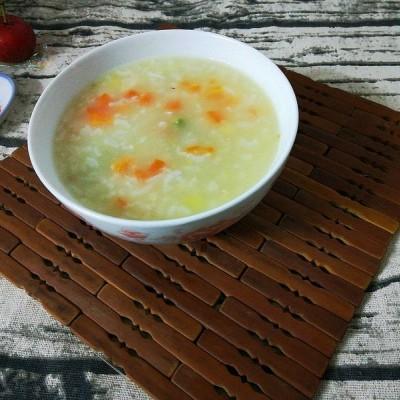 胡萝卜豌豆粥