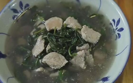 枸杞叶瘦肉汤