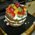 水果裸蛋糕(6寸)