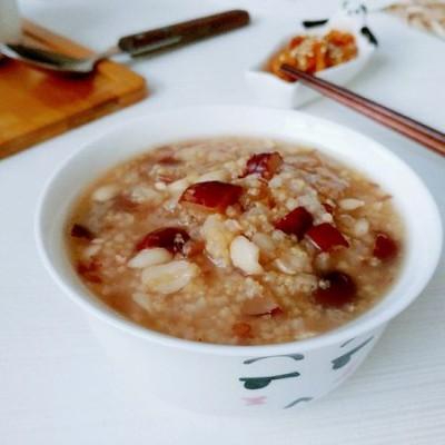 红枣花生大小米