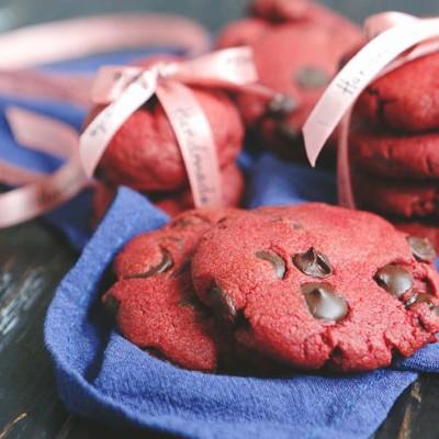 红丝绒曲奇饼干