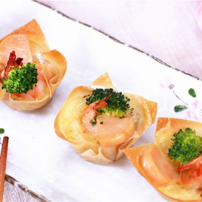 广东早茶-金盏虾