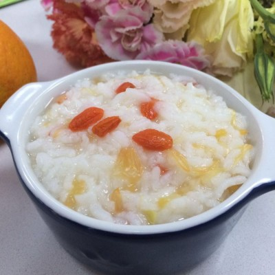 枸杞柚子粥