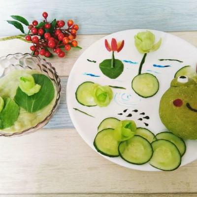 水果拼盘-小蝌蚪萌煮找妈妈