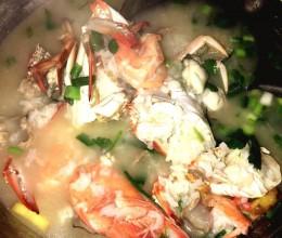 砂锅虾蟹粥